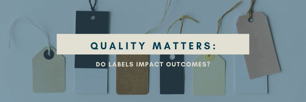 Quality Matters: What Labels Reflect the Best Cardiology Outcomes?
