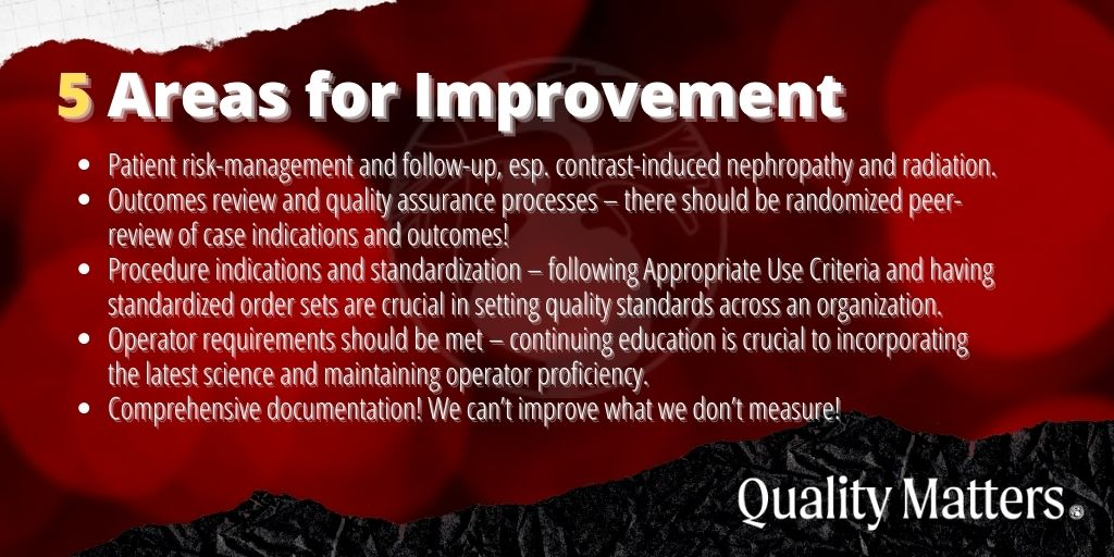 5 areas for cath lab quality improvement - quality matters.